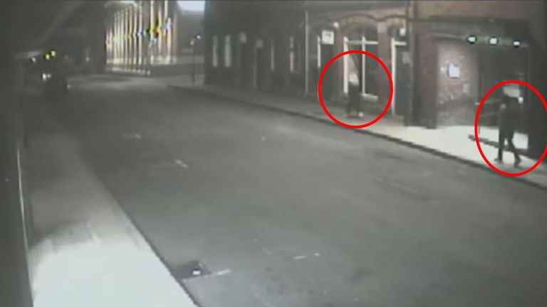 Fortes was spotted following the victim on CCTV
