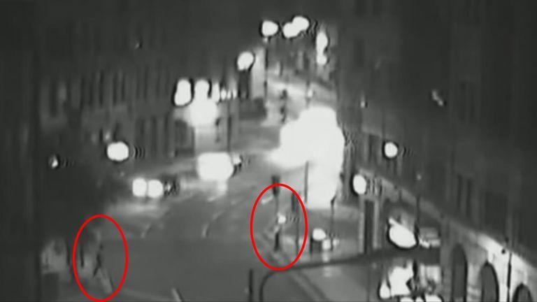 Fortes pursued the victim through Leeds city centre