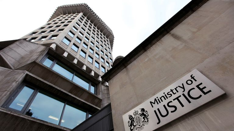The Ministry of Justice received a complaint from a woman