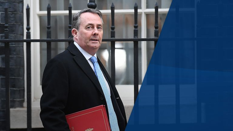 Trade secretary Liam Fox abstained on the request to delay