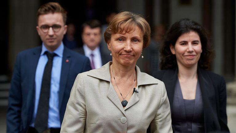 Litvinenko's wife Marina has given permission for the treatment of her husband's story