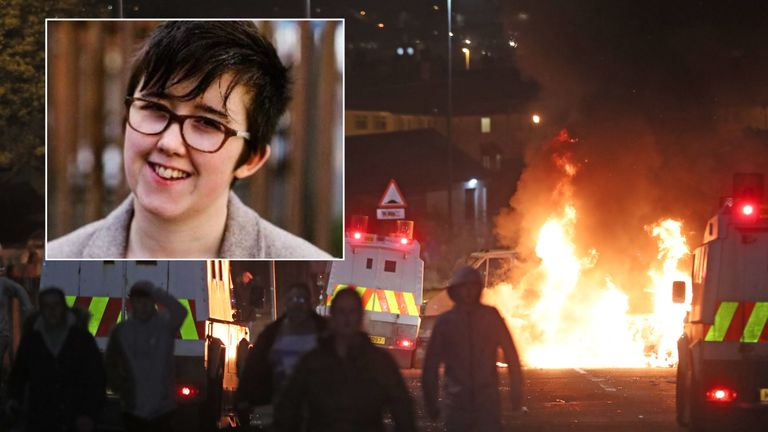 Lyra McKee was covering riots in Londonderry when she was shot dead