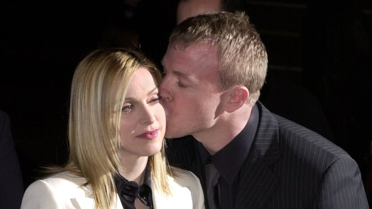 Madonna and Guy Ritchie divorced in 2008