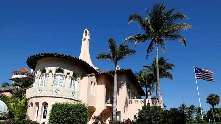 The woman has been charged with illegally entering Donald Trump's Mar-a-Lago resort