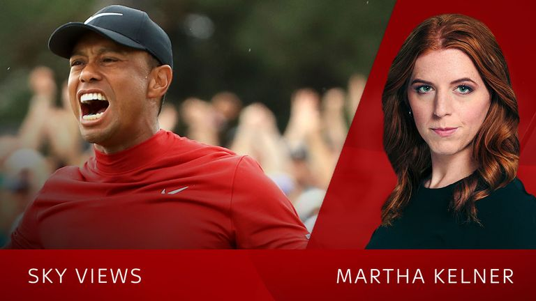 Sky's Martha Kelner says Tiger Woods' victory was one of the most significant sporting comebacks
