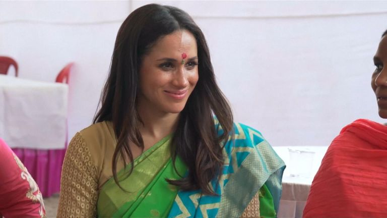 Meghan Markle in Dehli