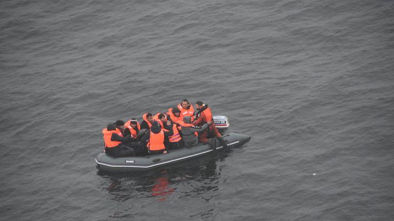Migrants Pic: Prefet maritime Manche