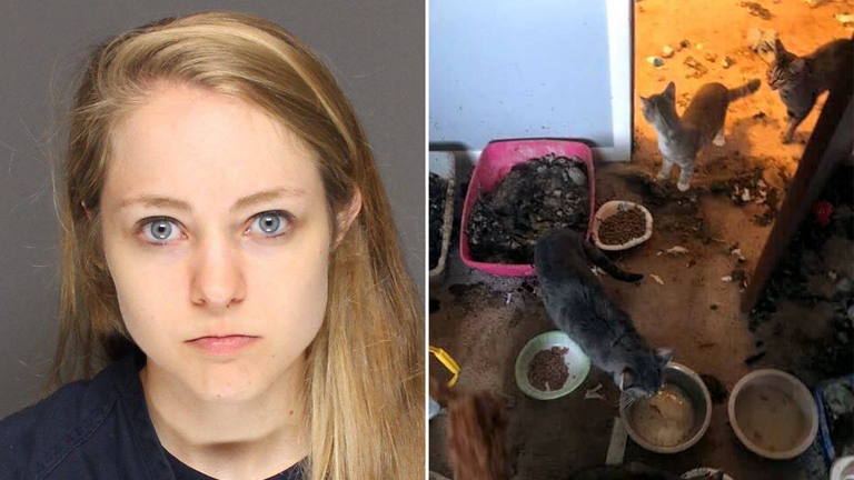 Caycee Bregel has been sentenced after pleading guilty to animal cruelty
