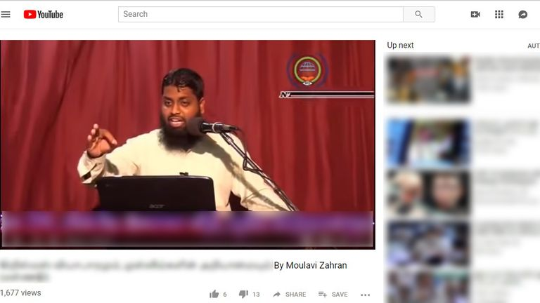 Zahran Hashim's video was on YouTube
