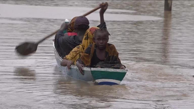 Mozambique hit by a period of extreme weather