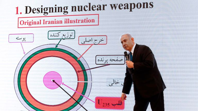 Benjamin Netanyahu has countered iran's threat to Israel with considerable skill