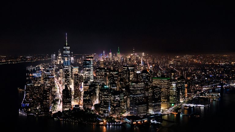 Cities like New York generate a huge amount of light