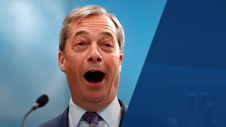 Farage has already overtaken UKIP in the Euro polls and 'snapping at the heels' of the Tories