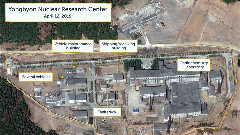 North Korea: Satellite images suggest movement at nuclear site