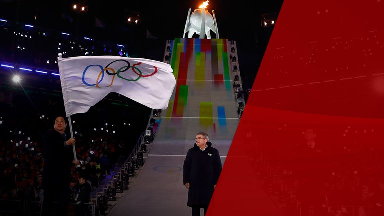 The Olympic Games closing ceremony 2018