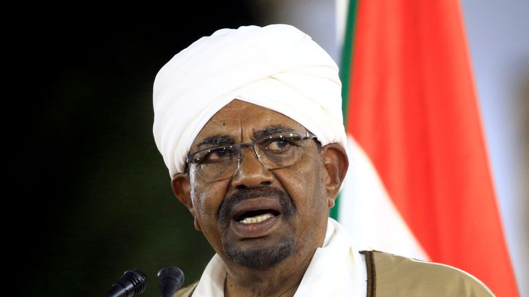 Activists are calling for President Omar al-Bashir to step down.