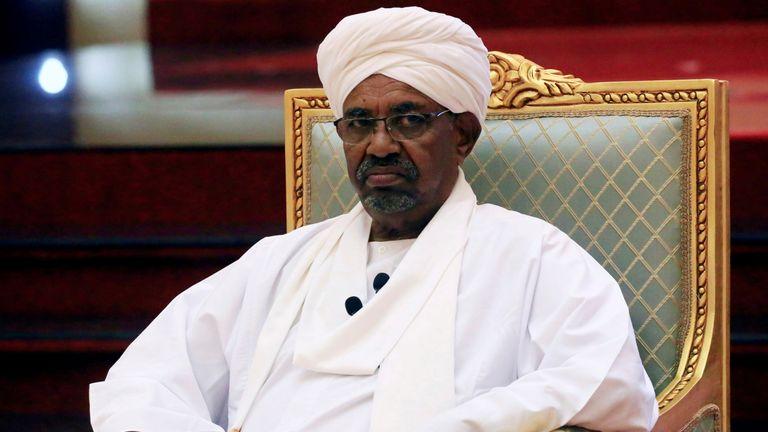 Sudan's former president Omar al Bashir
