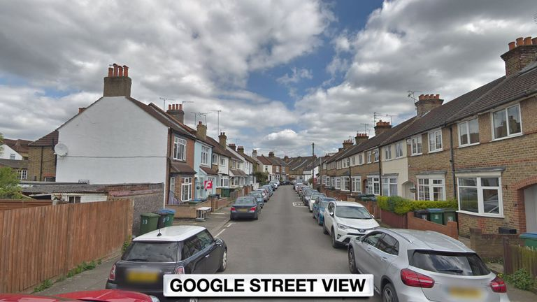 The women escaped from Osborne Road, Watford