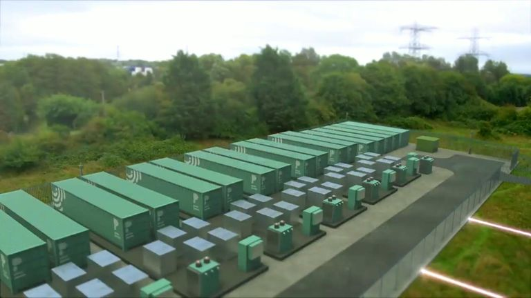 Batteries the size of shipping containers will be built in the city