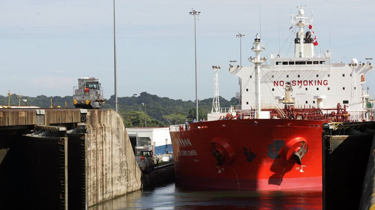 Restrictions on cargo will negatively effect revenues for the canal's operators