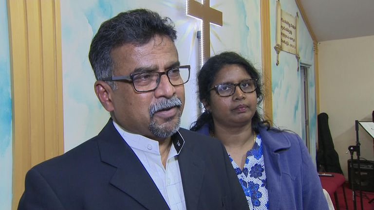Pastor Paul Lohan says 'we have to forgive them'