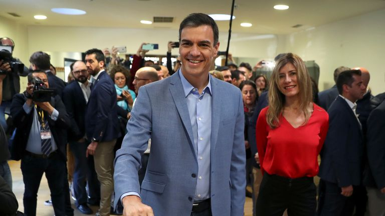 Pedro Sánchez  called the vote after his budget was rejected