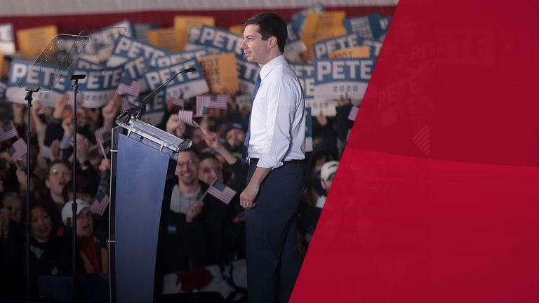Pete Buttigieg announcing he will run for the Democrat nomination