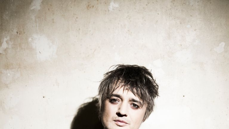Peter Doherty, for Record Store Day piece. Pic: Roger Sargent