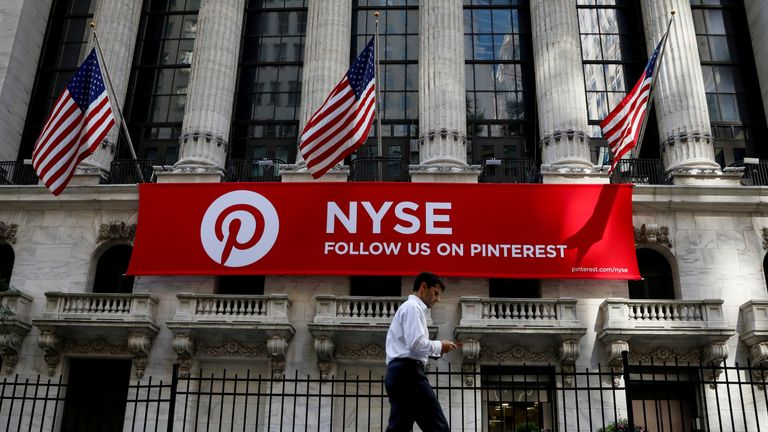 Pinterest's performance on the New York Stock Exchange will be monitored closely