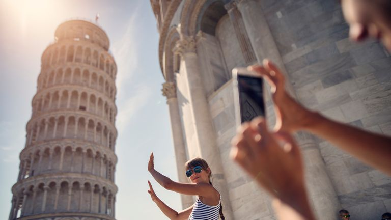 A goof photo op - but The Leaning Tower of Pisa also makes the Top 10