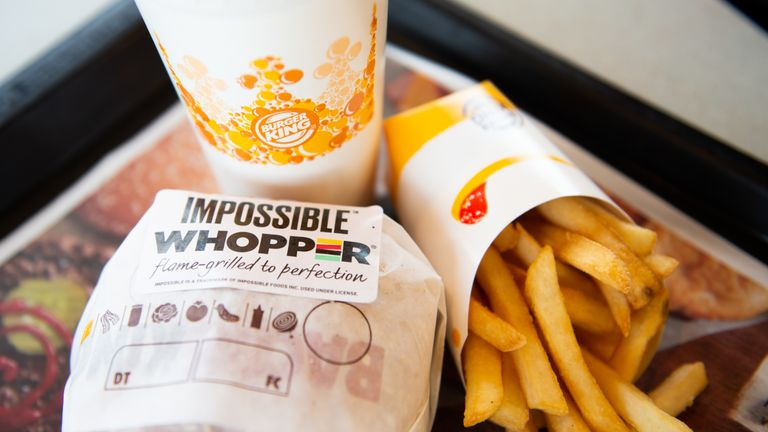 Burger King launches plant-based 'Impossible Whopper'