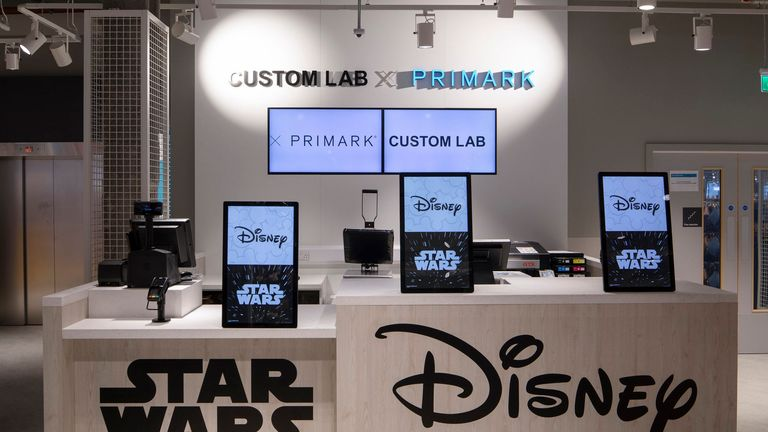 The venue will feature a Disney themed  cafe and shopping area