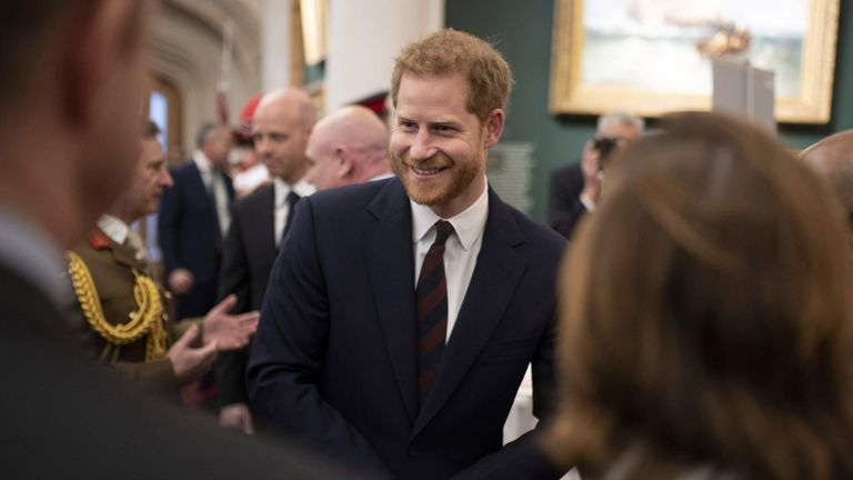Prince Harry meets guests at the Big Curry Lunch in London