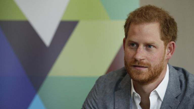 The Duke of Sussex spoke to the Youth Ambassadors Mental Health Champions during the visit to YMCA, South Ealing