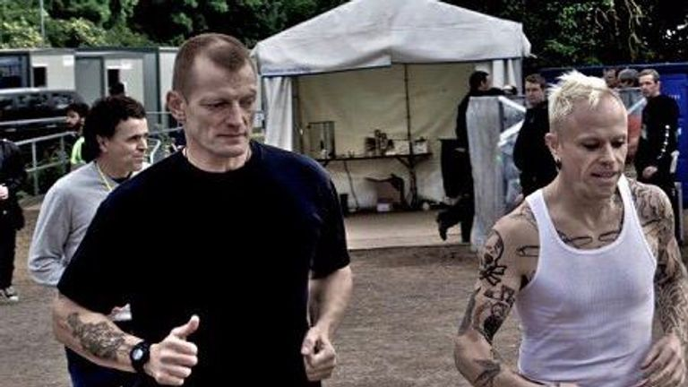 The band described Con as their 'Superman'. Pic: @the_prodigy