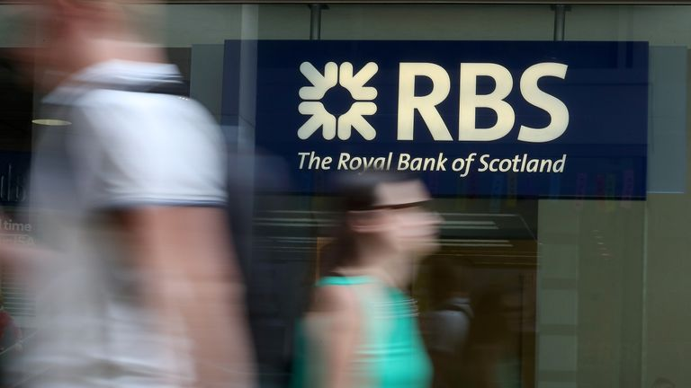 The chief executive of RBS will be stepping down within the next year