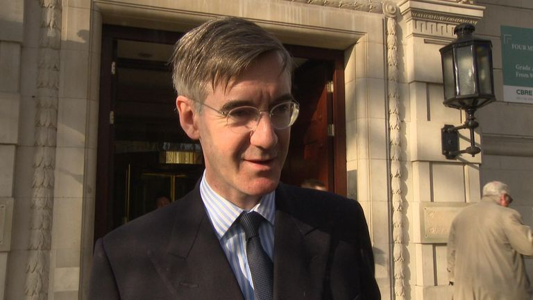 Jacob Rees-Mogg, Chair of the ERG, said May's offer to work with Corbyn was due to the PM 'failing to negotiate effectively'.