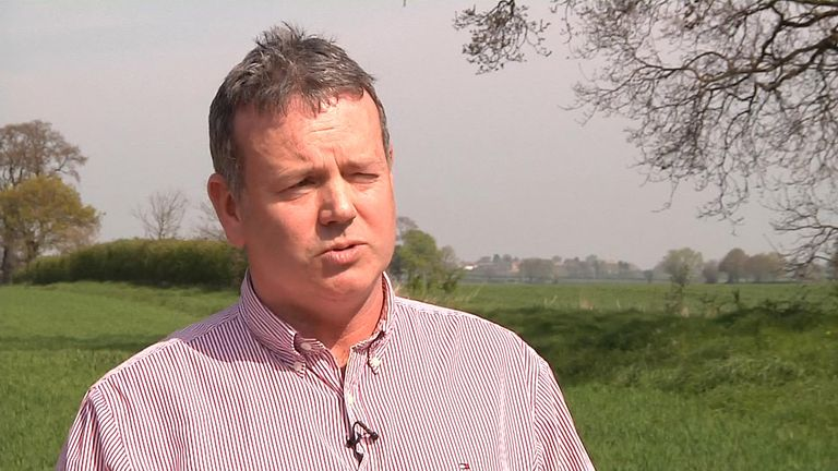 Richard Bramley, who sits on the National Farmers Union environment forum