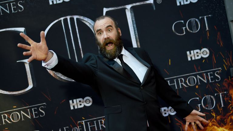 Rory McCann, who plays Sandor 'The Hound' Clegane