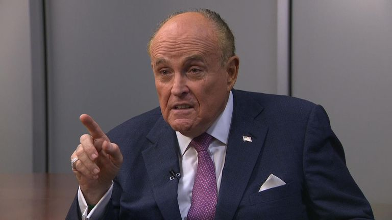 Rudy Giuliani, called Robert Mueller's team a 'bunch of unethical slimy prosecutors who are part of Hillary Clinton's love machine'