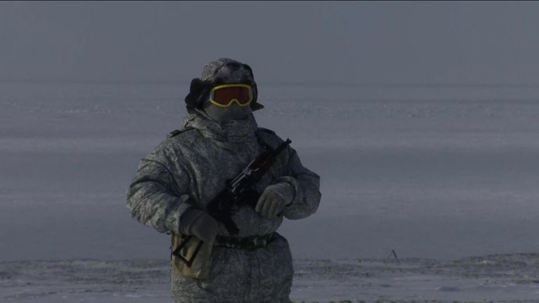 Russia builds up its military presence in the Arctic