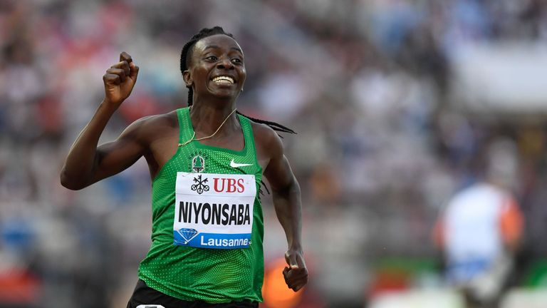 Francine Niyonsaba is Semenya's greatest rival - and has the same condition