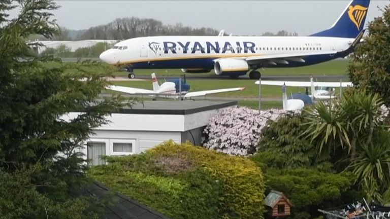 Fury as Southend Airport revamp moves jets just 150ft away from pensioner's back garden