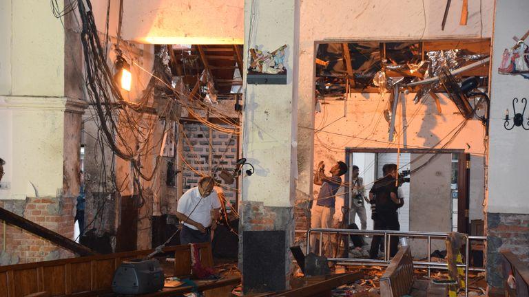People 'disappearing' as Sri Lanka hunts dozens of terror suspects