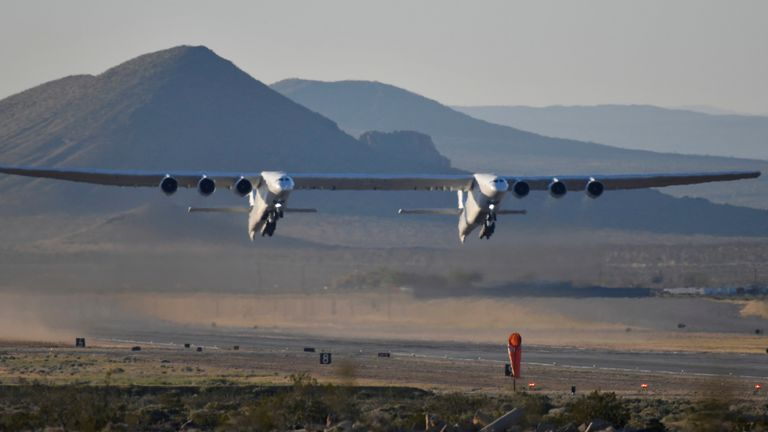 The Stratolaunch is designed to launch rockets into orbit