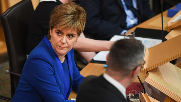Ms Sturgeon has delayed any announcement until now, citing doubts over Brexit