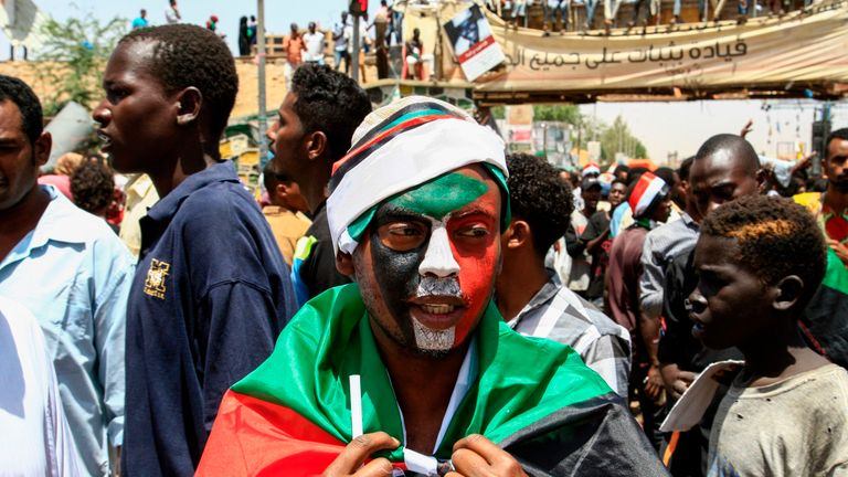 Protests have continued despite the ousting of former president Omar al Bashir