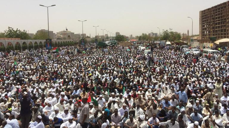 Sudan leader steps down - a day after taking power in military coup