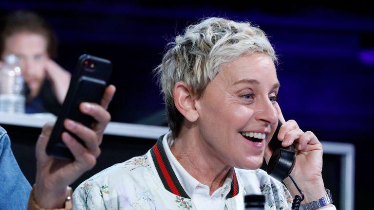 Ellen DeGeneres has spoken out against the sultan