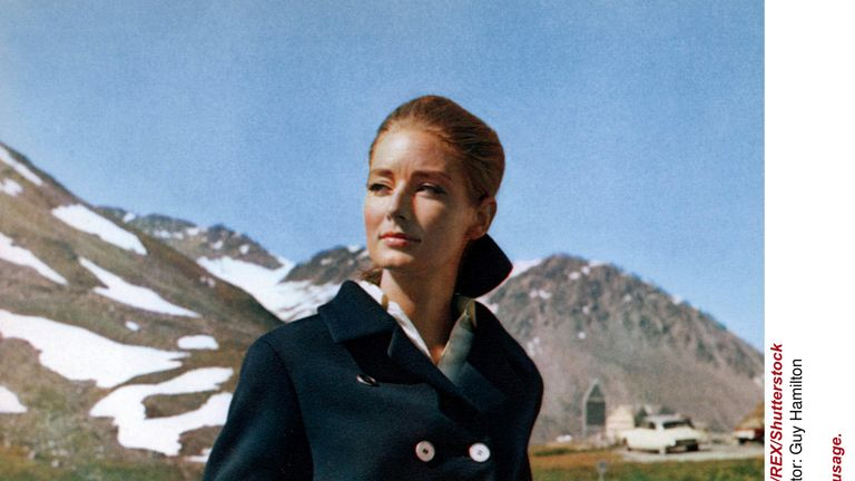 Tania Mallet: Bond Girl Tania Mallet, Who Played Tilly Masterson In